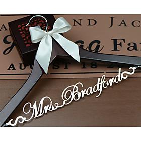 Gifts Bridesmaid Gift Deluxe Personalized Wedding Dress Hanger, Custom Bridal Bridesmaid Hanger EL001