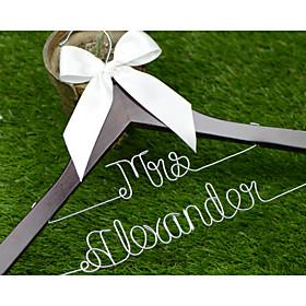 Bride Bridesmaid Couple Wood Aluminum Alloy Creative Gift Wedding Congratulations Thank You