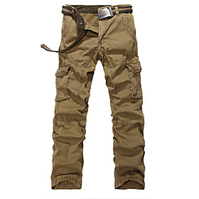 Image of How men's trousers pocket Easy leisure men's trousers Han edition outdoor sports fashion men's trousers