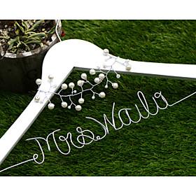 Bride Bridesmaid Flower Girl Couple Parents Wood Aluminum Alloy Creative Gift Wedding Congratulations Thank You