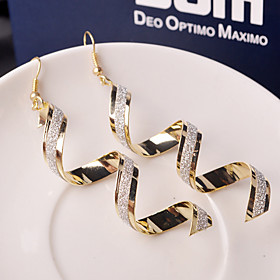 Women's Drop Earrings - Wave Fashion Silver / Golden For Wedding Party Daily