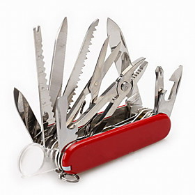Fashion Stainless Steel Wrenches/Knives/Plier/Nail File  Multitools Outdoor/Camping/Travel/Combined Survival Kit