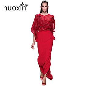 Robe - Maxi - Vintage/Sexy/Soirée/Maxi en Polyester