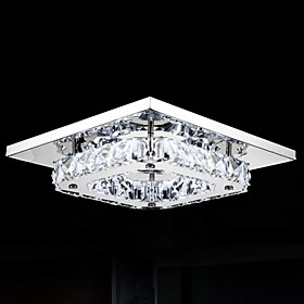 8 Flush Mount ,  Modern/Contemporary Electroplated Feature for LED Metal Bedroom Dining Room Hallway