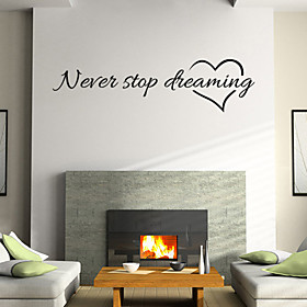 Still Life Wall Stickers Words  Quotes Wall Stickers Decorative Wall Stickers, Vinyl Home Decoration Wall Decal Wall Decoration