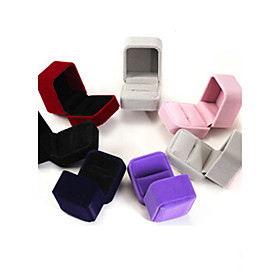 654CM Flannel /Earrings/Ring/ Jewelry Boxes 1pc