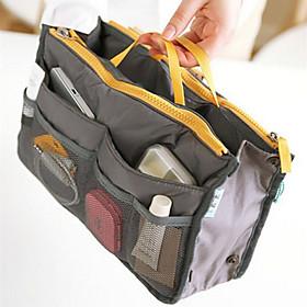 Women's Travel Portable Multifunctional Mesh Cosmetic Makeup Bag Storage Handbag Organizer(8 Color Choose)