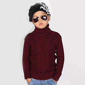 Jersey y Cardigan Boy - Invierno/Primavera/Oto? Algod?unto - Manga Larga