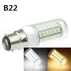 E14/B22/E2627/G9/GU10 9W 48x5630SMD 360LM Warm/Cool White Decorative Corn Bulbs AC220-240V/AC110-240