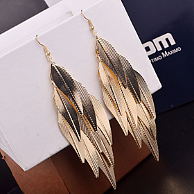 Women's Drop Earrings Earrings Leaf Statement Ladies