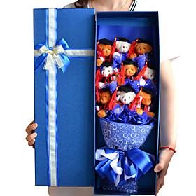 Dr. Bear Doll Gift Cartoon Bouquet Graduation Present 3929677