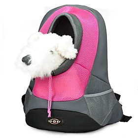 Cat Dog Carrier Travel Backpack Pet Baskets Portable Breathable Yellow Rose Red Green Blue For Pets