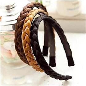 Twisted wig Braid Hair Bands Hair Braids Headband Bands Headwear Headband For Women Hairbands Hair Accessories