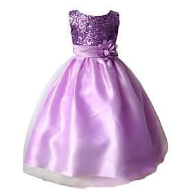 Image of 2015 Children Girls Evening Dress School Party Dress Formal Dress Evening Wedding Party Dresses Full Dress For SZ 3~10Y