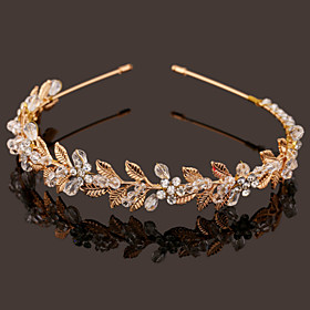 Pearl Crystal Imitation Pearl Headbands 1 Wedding Special Occasion Headpiece plus size,  plus size fashion plus size appare