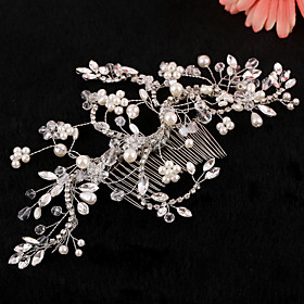 Rhinestone Hair Combs 1 Wedding Special Occasion Headpiece plus size,  plus size fashion plus size appare