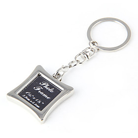 Boutique Photo Frame Key Chain Wholesale Craft Gift Key Buckle