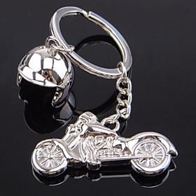New Model Of The New Type Of Motorcycle Helmet Metal Key Buckle Creative Man Gift Key Chain 4073538