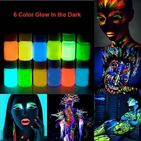 Image of Glow In The Dark Neon Face Body Paint -25ml 1 Piece Fluorescent