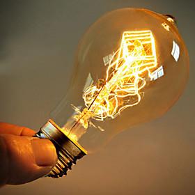 40w E27 Эдисон ретро лампочка st64 A19 (220-240)