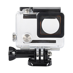 Accessories For GoPro,Protective Case Custom Made Waterproof, For-Action Camera,Gopro Hero 3 Gopro Hero 4 1pcs Metal Plastic