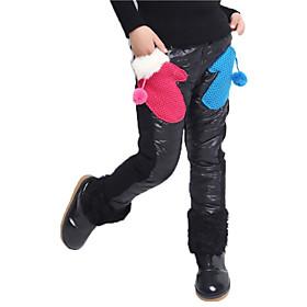 Pantalones Chica de - Invierno / Primavera / Oto? Algod? Mezcla de Algod? Nailon / Poli?er / Esp?ex - Manga Larga