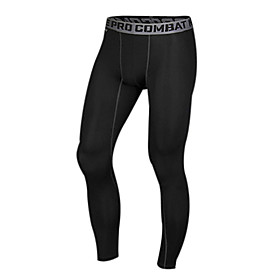 Running Pants/Trousers/Overtrousers / Leggings / Tights / Bottoms Men's Compression / Lightweight Materials ChinlonExercise  Fitness /