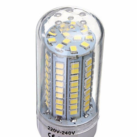 YWXLight E14/G9/GU10/E26/E27/B22 18W 102x2835SMD 1650LM Warm/Cool White LED AC 220-240V