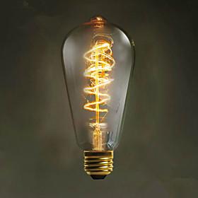 E27 40w st64 обмотки Эдисон ретро декоративный лампочку