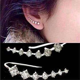 Earring Stud Earrings / Drop Earrings Jewelry Women Alloy 2pcs White