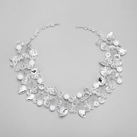 Crystal / Alloy / Imitation Pearl / Rhinestone Headbands Wedding / Party 1set 4666862