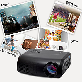 EJIALE Home Theater Projector 500 Lumens VGA (640x480) LCD E07
