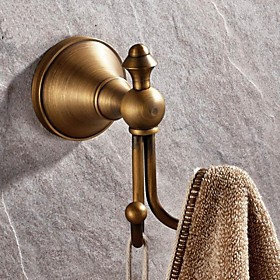 Robe Hook High Quality Antique Brass 1 pc - Hotel bath 2549620