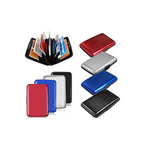 Latest Aluminum Rfid Blocking Credit Card Holder Case / Wallet for Women Men - Stylish Travel Wallets - Best Protector