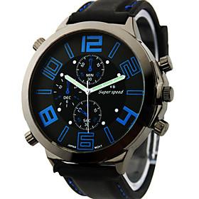 V6 Men's Watch Japanese Quartz Military Silicone Strap Cool Watch Unique Watch Fashion Watch