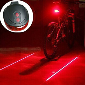 Bike Light / Lanterns  Tent Lights / Rear Bike Light Laser / LED Bike Light - Cycling Impact Resistant, LED Light, Easy Carrying AAA 400 lm Battery Camping / H