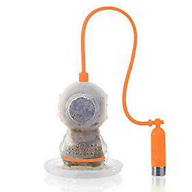 Deep Tea Diver Tea Infuser Cute Scuba Loose Leaf Silicone Mug Cup Strainer Filter
