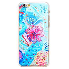 $Για Θήκη iPhone 6 / Θήκη iPhone 6 Plus Με σχέδια tok Πίσω Κάλυμμα tok Λουλούδι Σκληρή PC iPhone 6s Plus/6 Plus / iPhone 6s/6