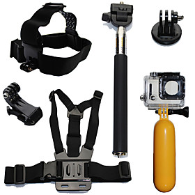 Accessory Kit For Gopro Waterproof Floating For All Action Camera Xiaomi Camera Gopro 5 Gopro 4 Session Gopro 4 Gopro 3 Gopro 3 Gopro 2