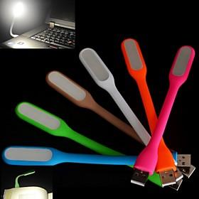 Flexible LED Touch USB Light Ultra Bright Portable Mini USB Led Lamp for Laptop Notebook PC Computer