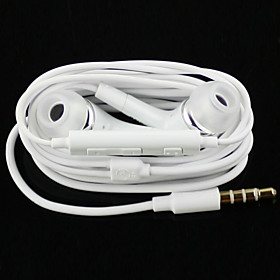 High Quality Stereo Headset In Ear Metal Earphone handsfree Headphones with Mic 3.5mm Earbuds for Samsung S4/S5 4579418