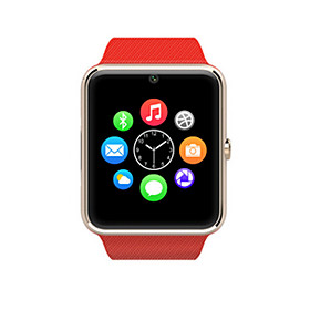 New Smart Watch Cell Phone Watch GT08 with Bluetooth V3.0 Alarm Clock/Micro-letters/Stopwatch/Computer