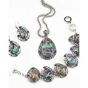 Vintage \/ Party \/ Buro \/ Freizeit - Damen - Halskette \/ Ohrring \/ Armband ( Legierung )