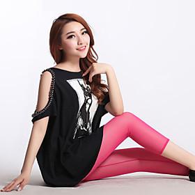Dun - Netstof / Polyester / Spandex - Legging - Vrouw - Legging
