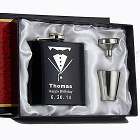 Personalized Stainless Steel Barware  Flasks / Hip