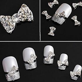 10pcs Bow Nail Jewelry