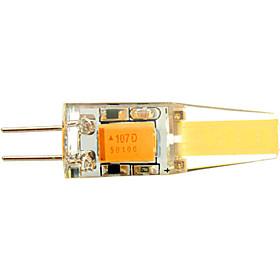 YWXLight 1 pcs G4 6 W 2 COB 500-700 LM Warm White / Cool White T Decorative Bi-pin Lights AC/DC 12-24V