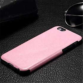 Capinha Para iPhone 6s Plus / iPhone 6 Plus / iPhone 6s iPhone 6 Plus / iPhone 6 Capa traseira Sólido Rígida PU Leather para iPhone 6s Plus / iPhone 6s / iPhon