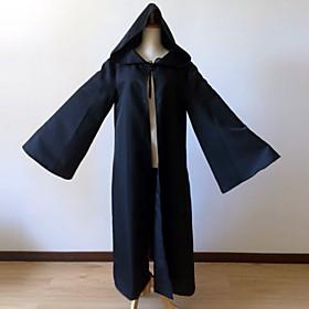 Star Battle Hooded Robe Cloak Knight Cosplay Costumes  Super Heroes / Soldier/Warrior / Movie/TV Theme Costumes Movie Cosplay Brown / Black Cloak 4793572