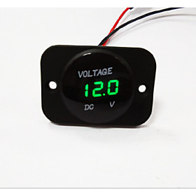 lossmann  Car Motorcycle LED Digital Display Voltmeter waterproof
